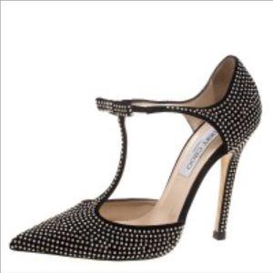 BNWT Jimmy Choo talan stud high heel shoes